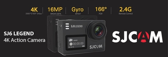 Action Camera SJCAM 4K SJ6 LEGEND WIFI