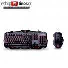 Keyboard & Mouse Zeroground KB-1500GUMS AZAI