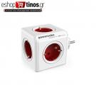 Allocacoc PowerCube Original Κόκκινο