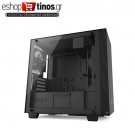 NZXT H400 MATTE BLACK – TEMPERED GLASS – MICROATX CASE