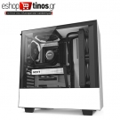 NZXT H500I MATTE WHITE – TEMPERED GLASS – RGB-SMART DEVICE