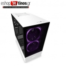 NZXT H510 ELITE WHITE – TEMPERED GLASS -SMART 2ND GEN – RGB FAN/LED – VERTICAL GPU MOUNT – ATX CASE