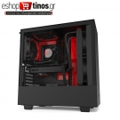 NZXT H510I BLACK RED – TEMPERED GLASS -SMART 2ND GEN