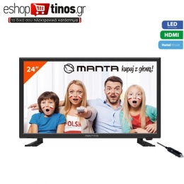 Manta TV LED240E4 24΄΄,HD 1366x768